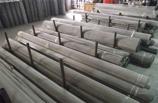 不锈钢宽幅丝网种类