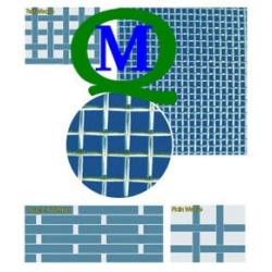 GFW2.0/0.5+GB/T5330-1985工业用金属丝编织方孔筛网